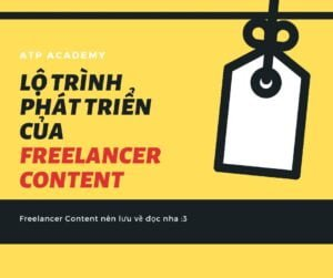 Lộ trình phát triển của một Freelance Content