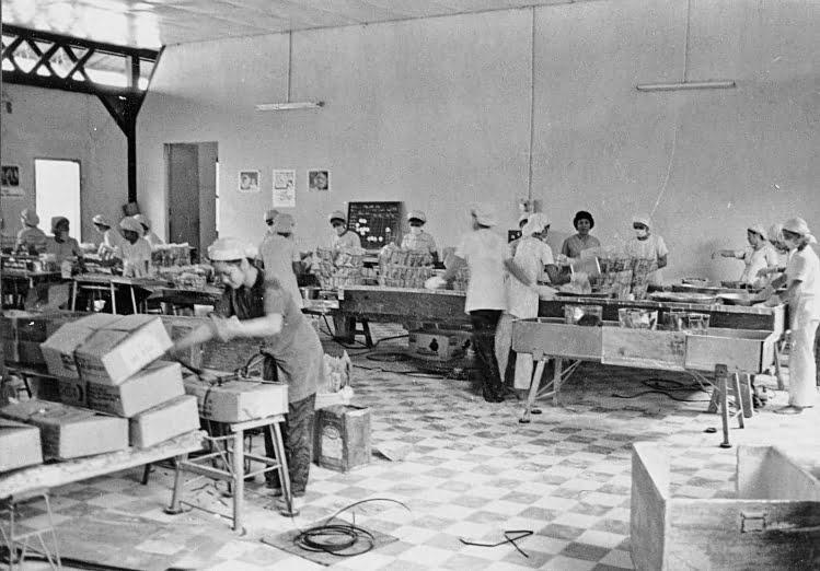 Sản xuất trong nhà máy Bích Chi những năm 1967 – 1975