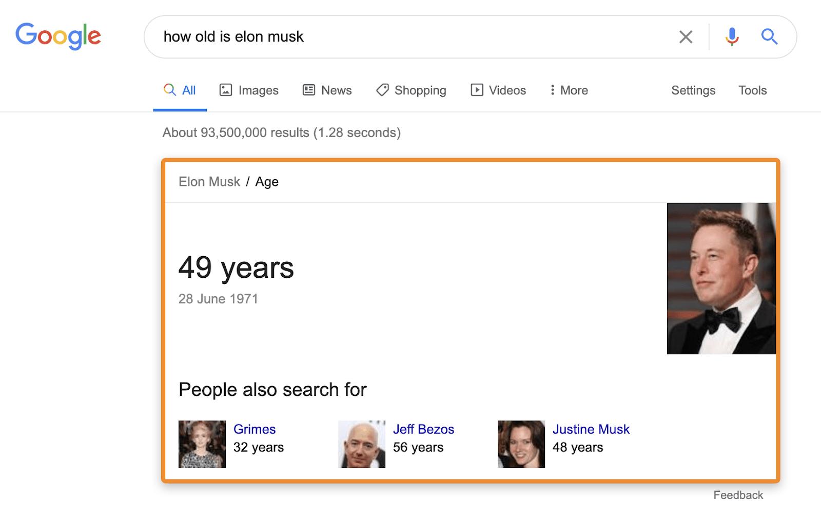 3 câu trả lời trên google đồ thị kiến thức