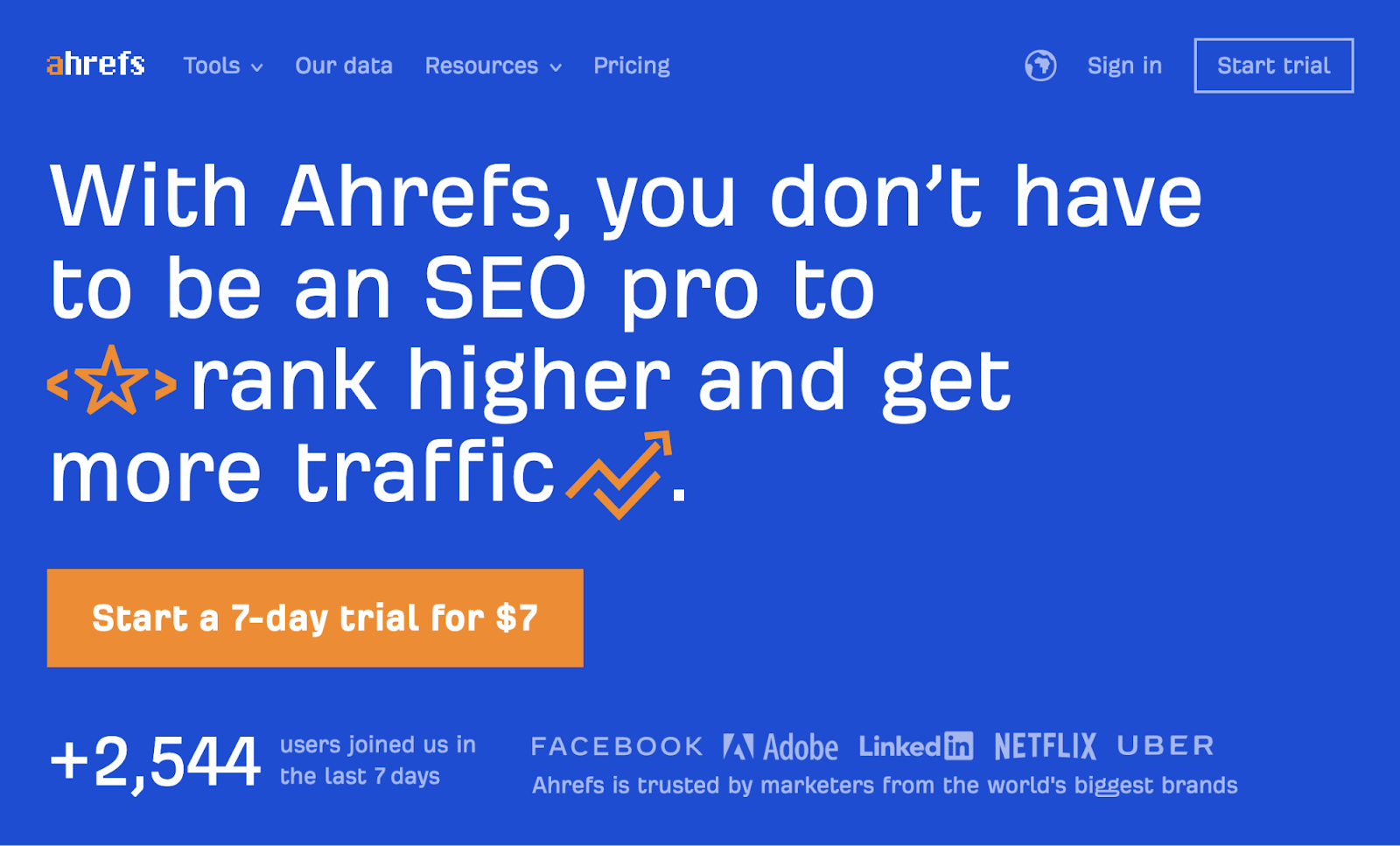 13 ahrefs tiếng anh