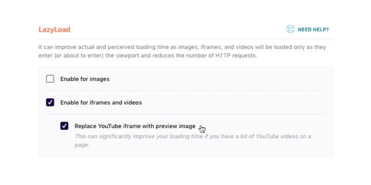 Các yếu tố báo cáo Core Web Vitals - Tải video của bạn một cách lười biếng